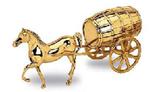 Лошадь с бочкой (14х30 см)