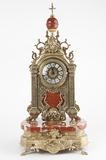 Часы на мраморном основании (69 х 32 х 25 см)